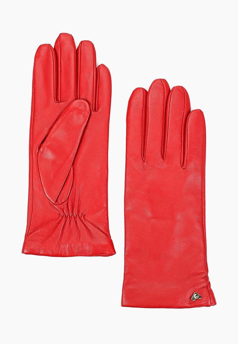 Женские перчатки Fabretti (Фабретти) 12.77-7 red
