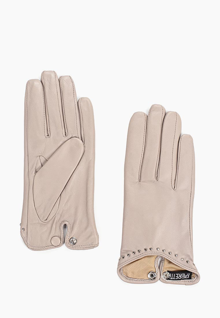 Женские перчатки Fabretti (Фабретти) B15-39s l.grey