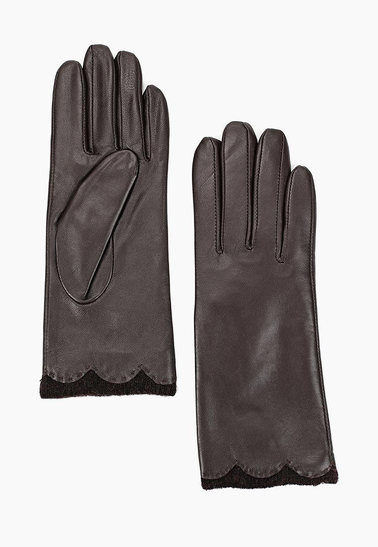 Женские перчатки Fabretti (Фабретти) S1.37-2  chocolat