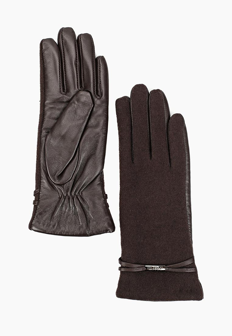 Женские перчатки Fabretti (Фабретти) 33.2-2 chocolat