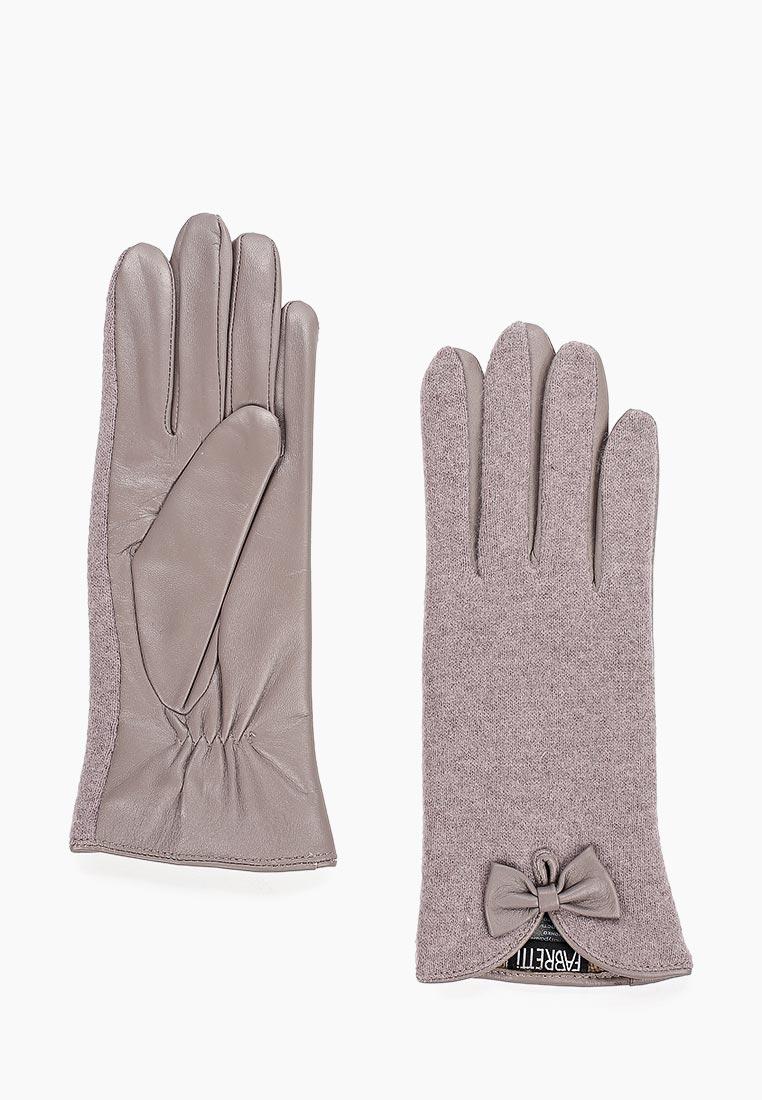 Женские перчатки Fabretti 33.6-9 grey
