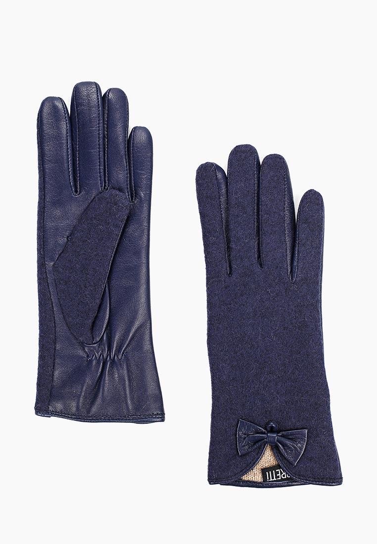 Женские перчатки Fabretti 33.6-12  blue