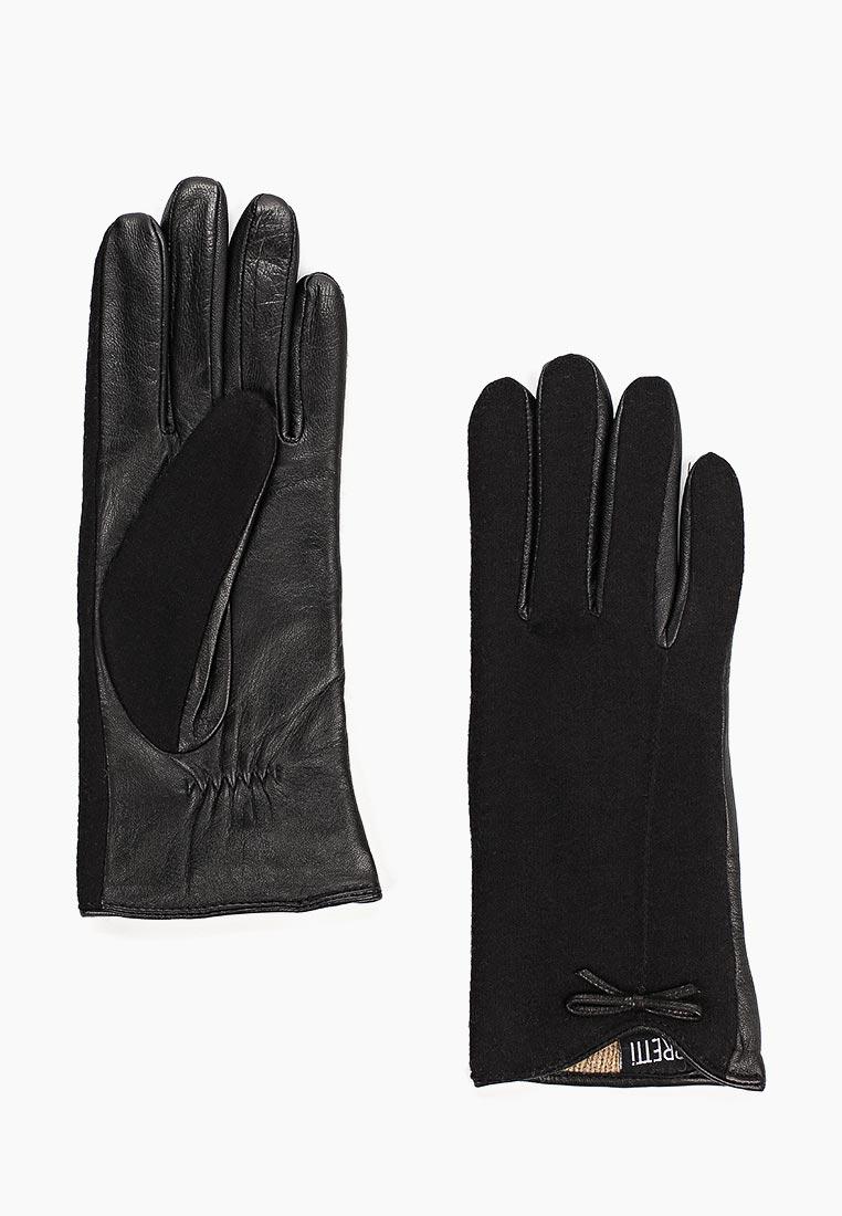 Женские перчатки Fabretti (Фабретти) 33.9-1 black
