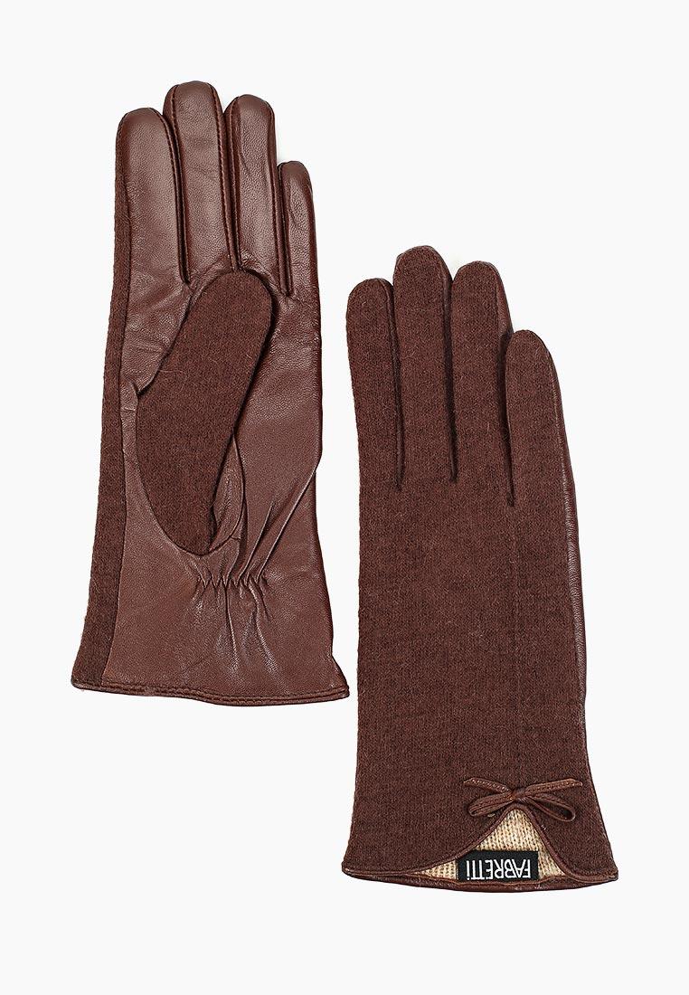 Женские перчатки Fabretti 33.9-2 brown