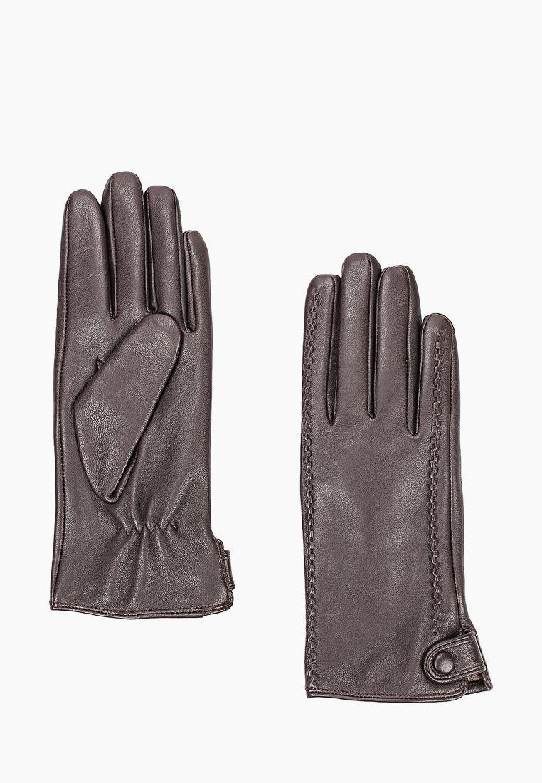 Женские перчатки Fabretti (Фабретти) B6-2 BROWN