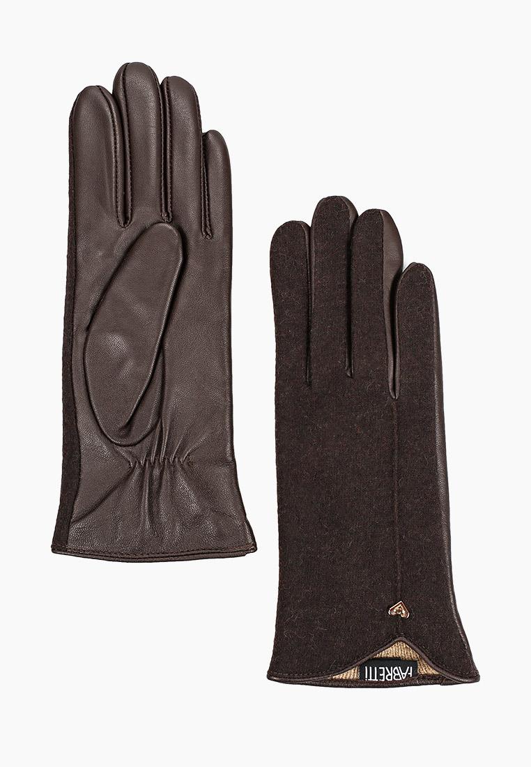 Женские перчатки Fabretti (Фабретти) 33.8-2  brown