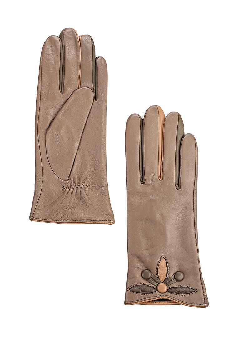Женские перчатки Fabretti 9.64-22s dark beige
