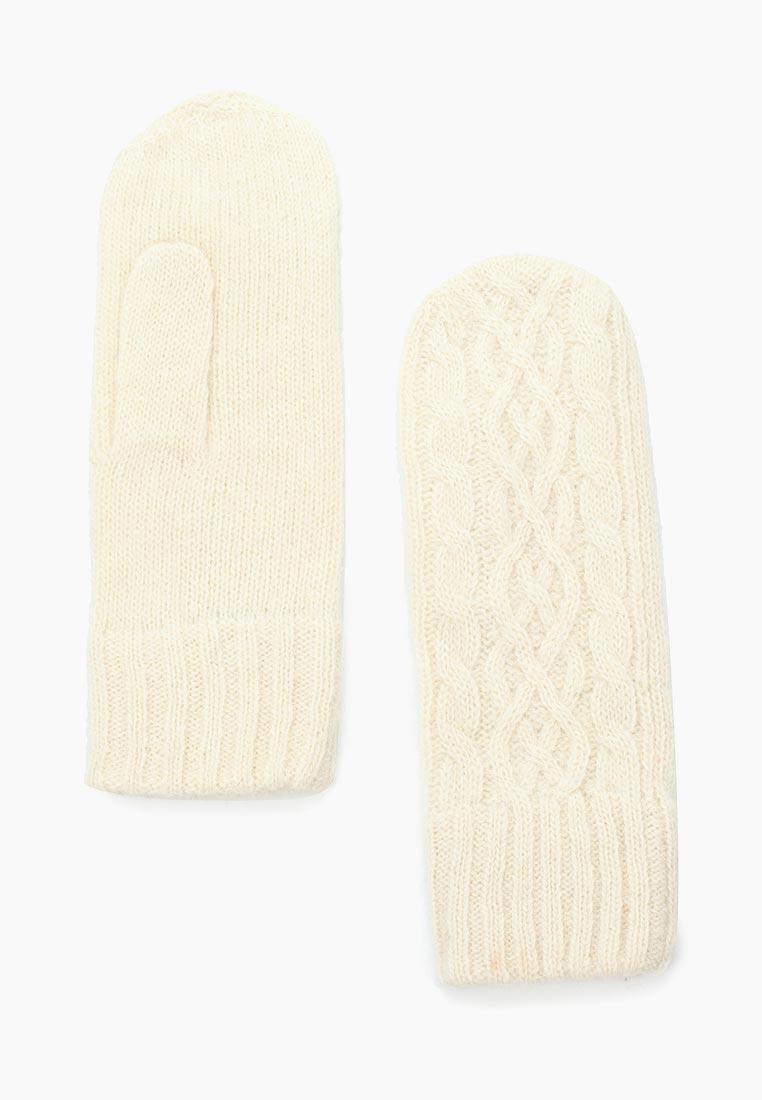Женские варежки Fabretti H2017-1-white