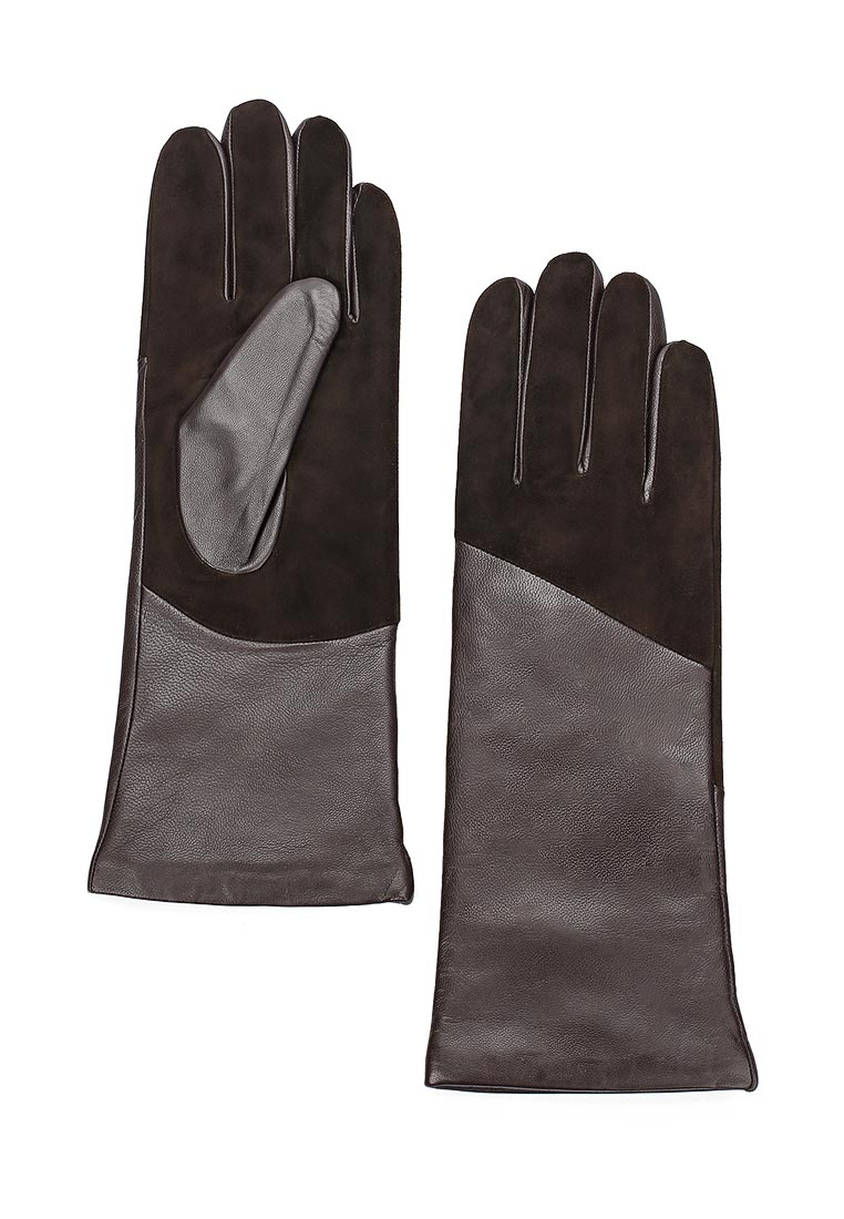 Женские перчатки Fabretti (Фабретти) 12.75-2 chocolat