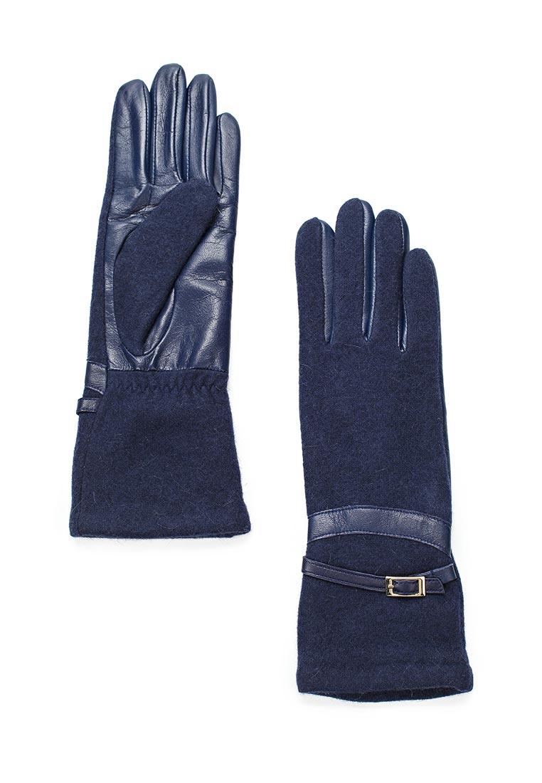 Женские перчатки Fabretti (Фабретти) 33.4-12 blue