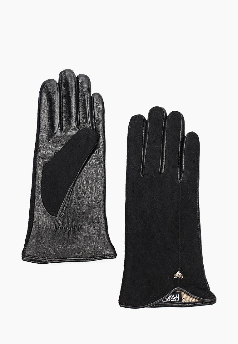 Женские перчатки Fabretti 33.8-1 black