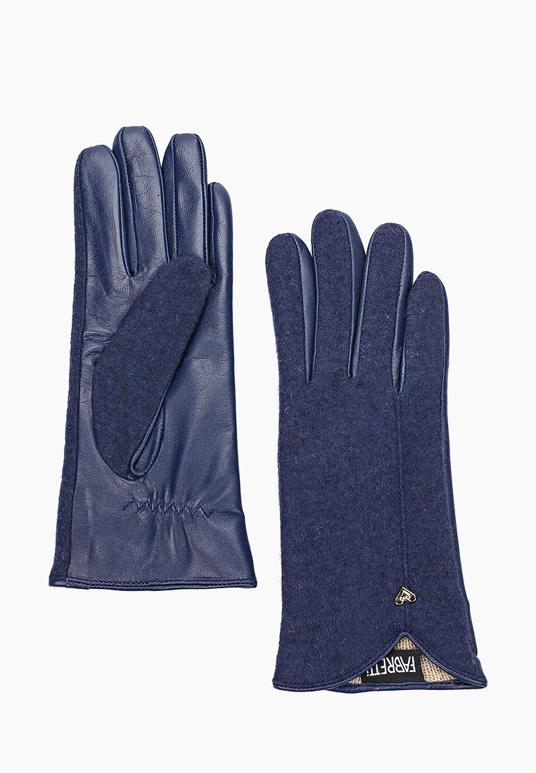 Женские перчатки Fabretti 33.8-12 blue