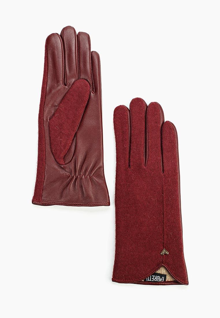 Женские перчатки Fabretti 33.8-8 bordo