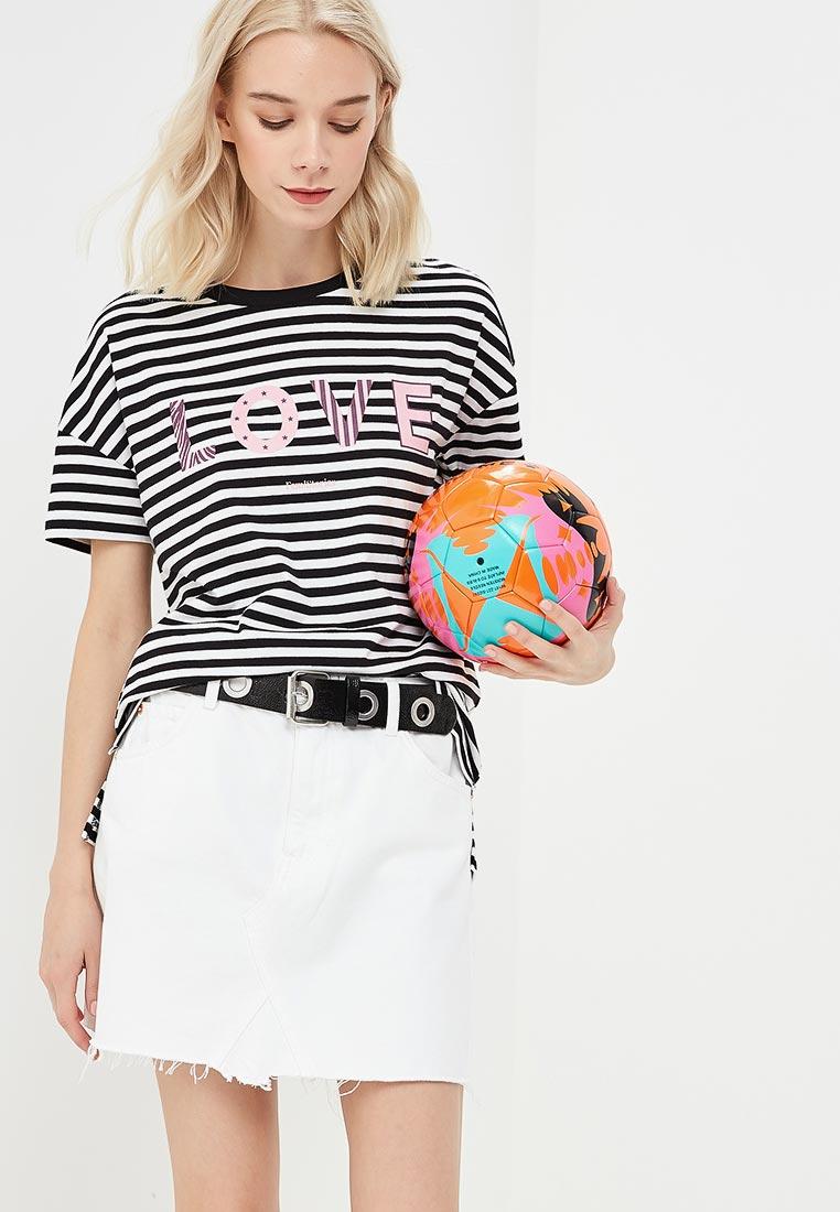 Футболка с коротким рукавом Femi Stories HEART