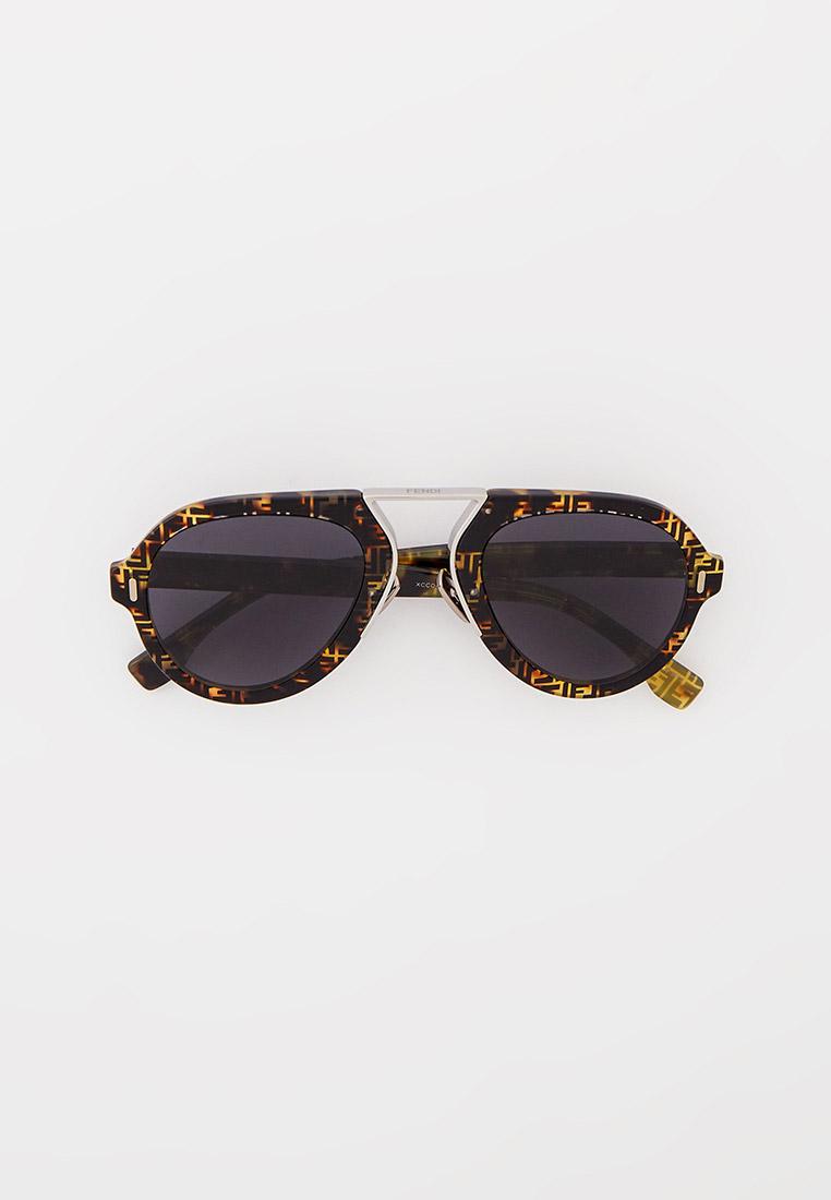 Мужские солнцезащитные очки Fendi (Фенди) FF M0104/S