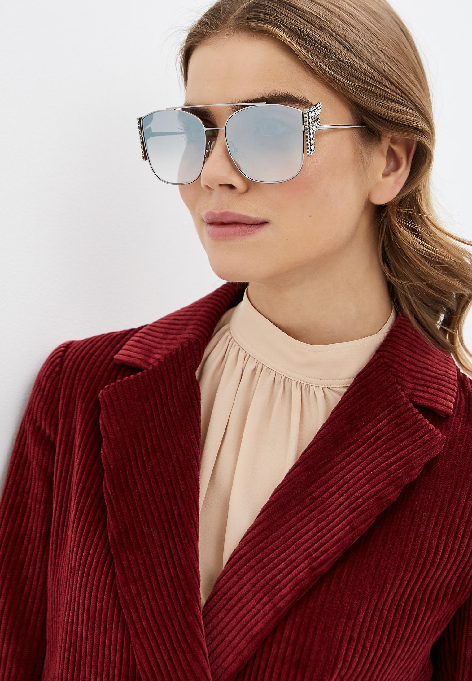 Женские солнцезащитные очки Fendi (Фенди) FF 0380/G/S