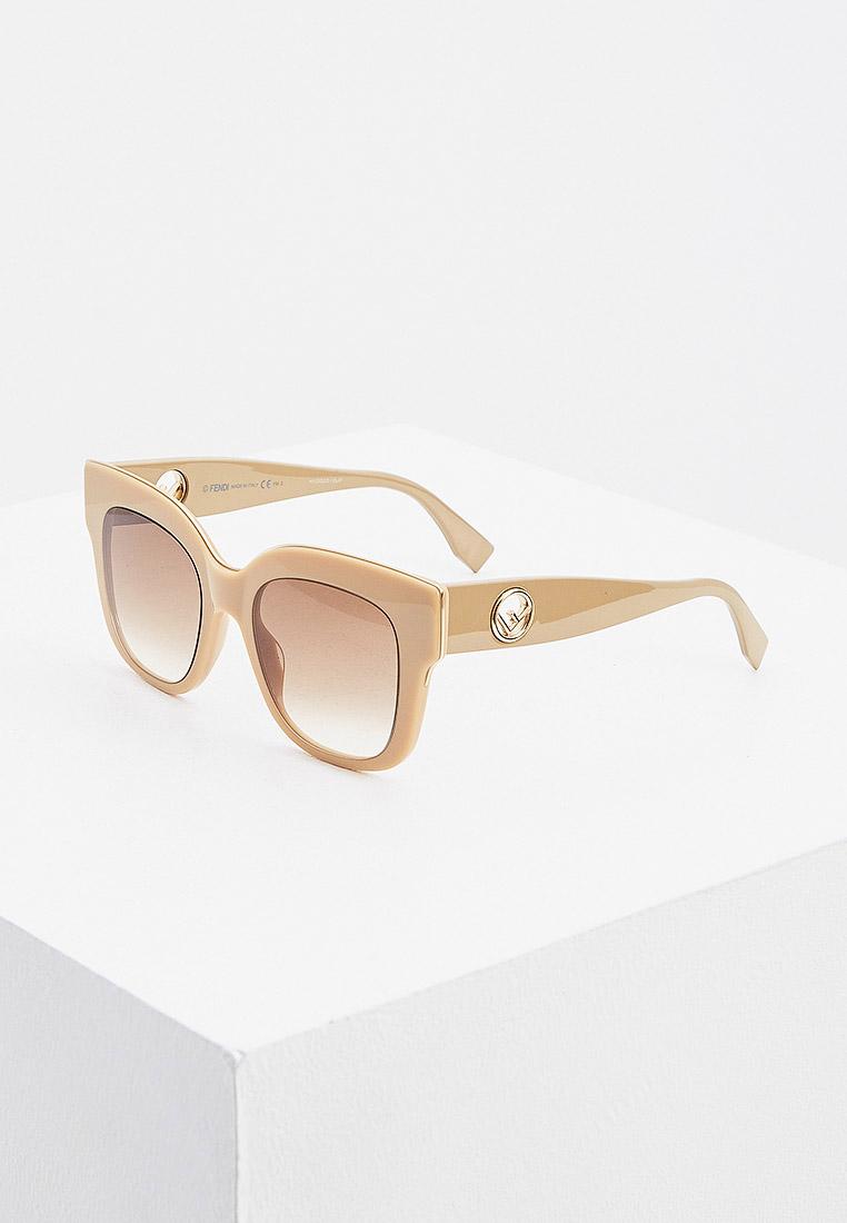 Женские солнцезащитные очки Fendi (Фенди) FF 0359/G/S