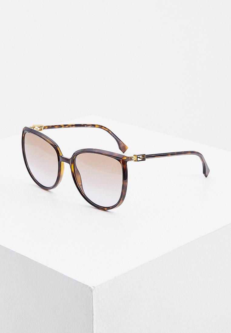 Женские солнцезащитные очки Fendi (Фенди) FF 0432/G/S