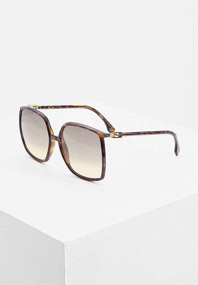 Женские солнцезащитные очки Fendi (Фенди) FF 0431/G/S
