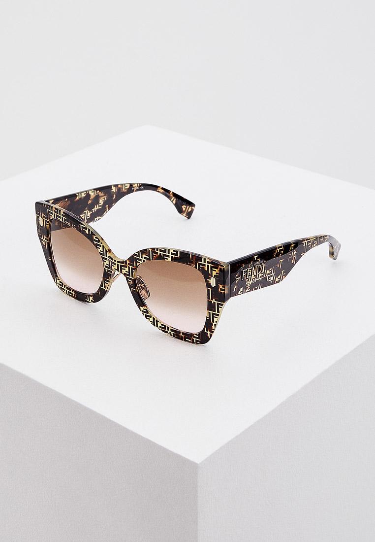Женские солнцезащитные очки Fendi (Фенди) FF 0434/G/S