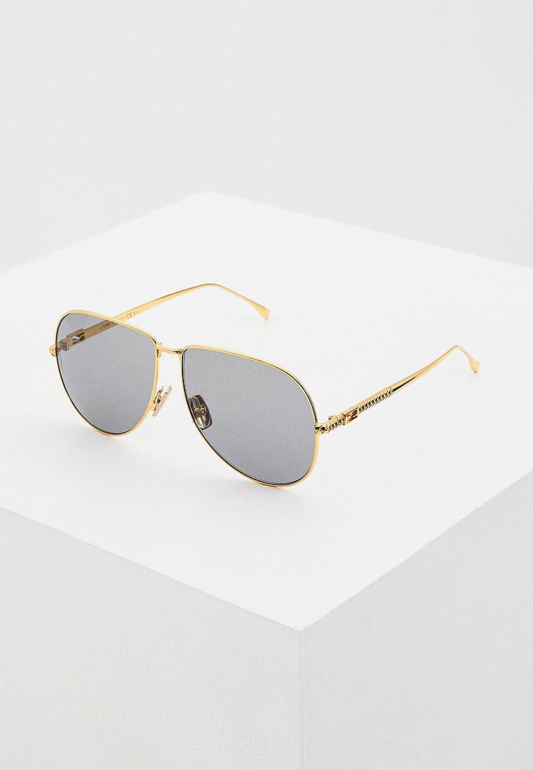 Женские солнцезащитные очки Fendi (Фенди) FF 0437/S