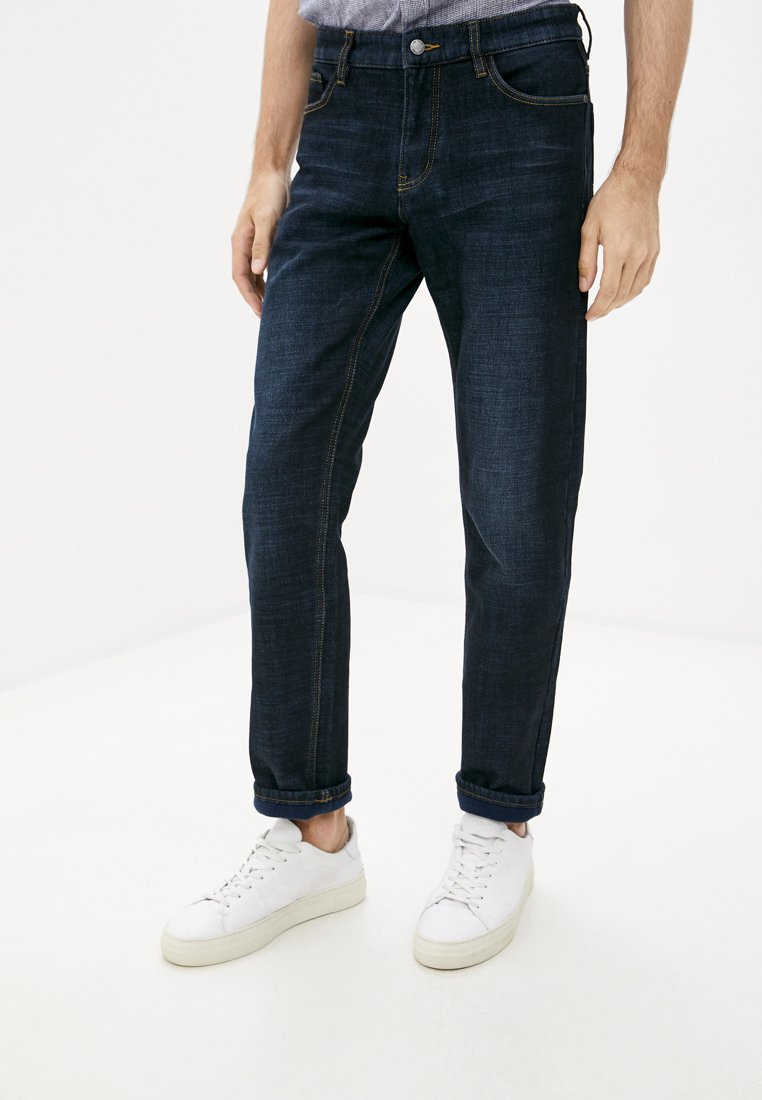 Мужские прямые джинсы Finn Flare (Фин Флаер) W19-25000
