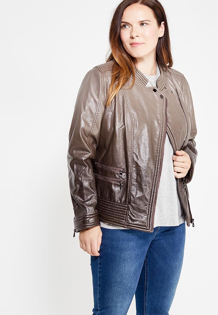 Кожаная куртка Fiorella Rubino I7R279F0051E