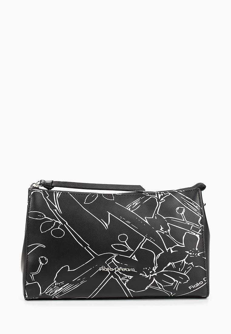 Сумка Fiato Dream 1234 FD кожа черный /серебро (сумка женская)
