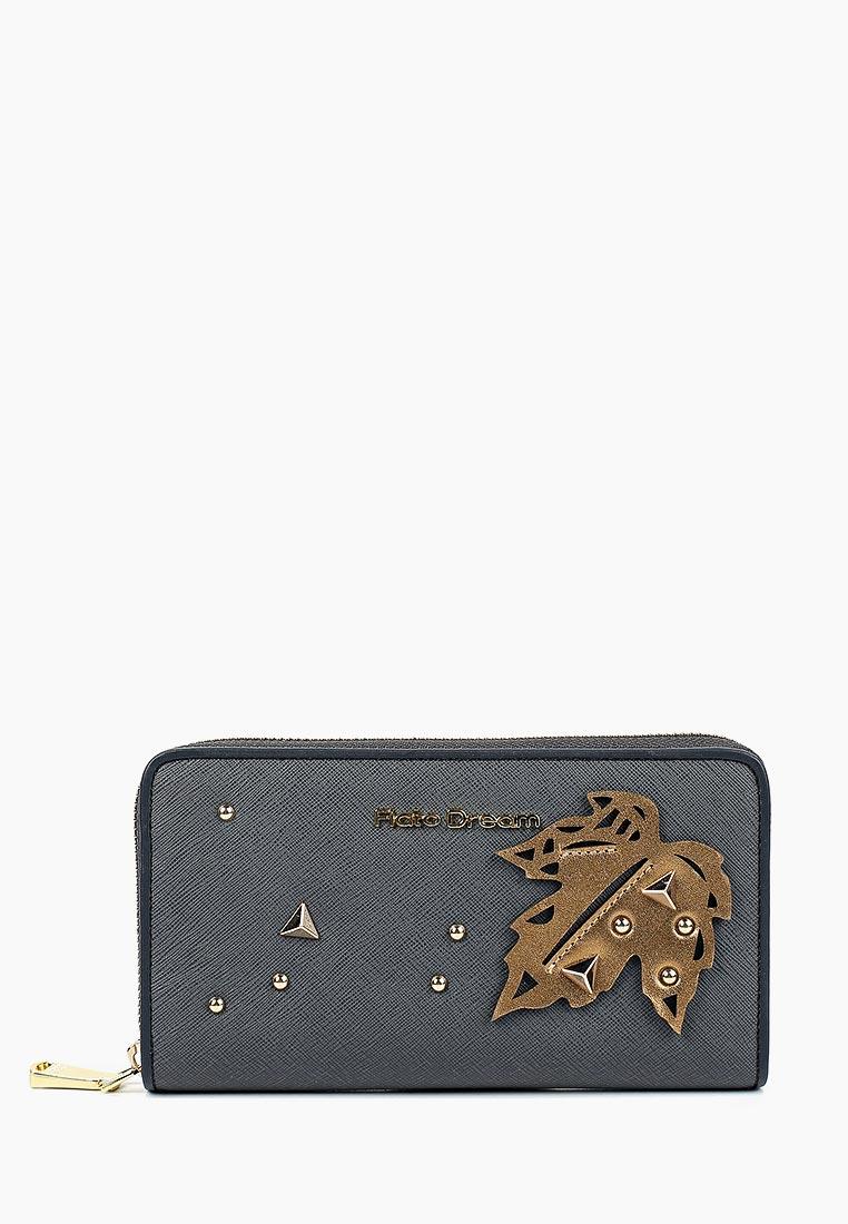 Кошелек Fiato Dream п121 FD саффиано серый  (кошелек женский)
