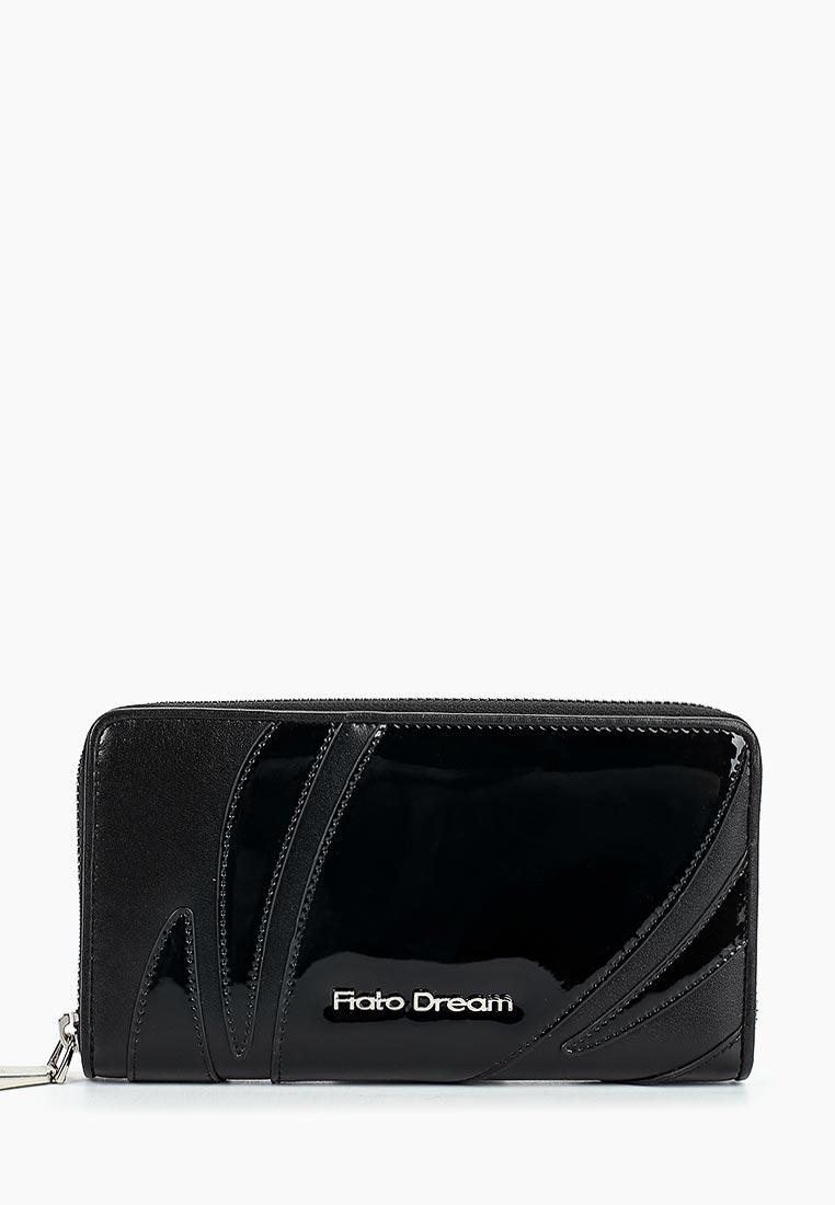 Кошелек Fiato Dream п122 FD кожа /лак черный (кошелек женский)