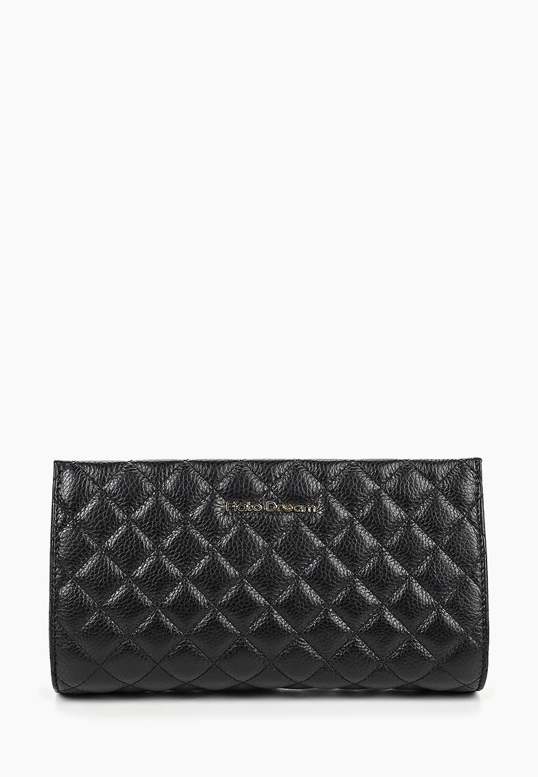 Клатч Fiato Dream 8025 FD кожа черный  (клатч женский)