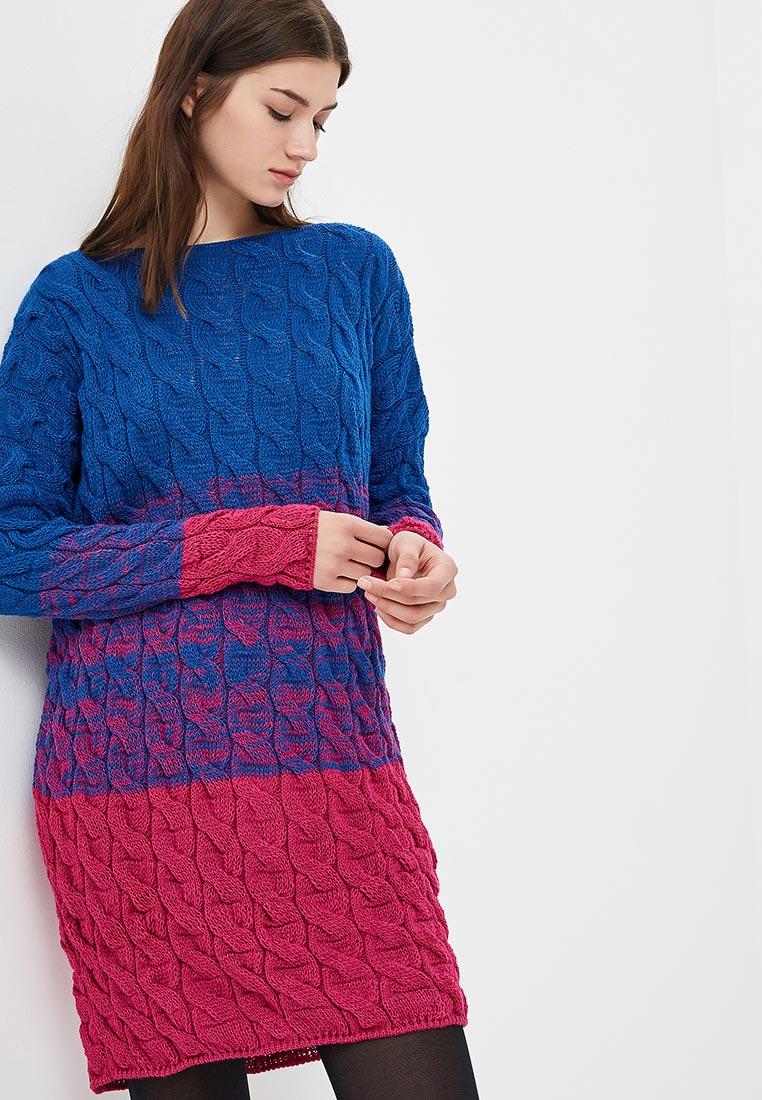 Вязаное платье Fimfi I152