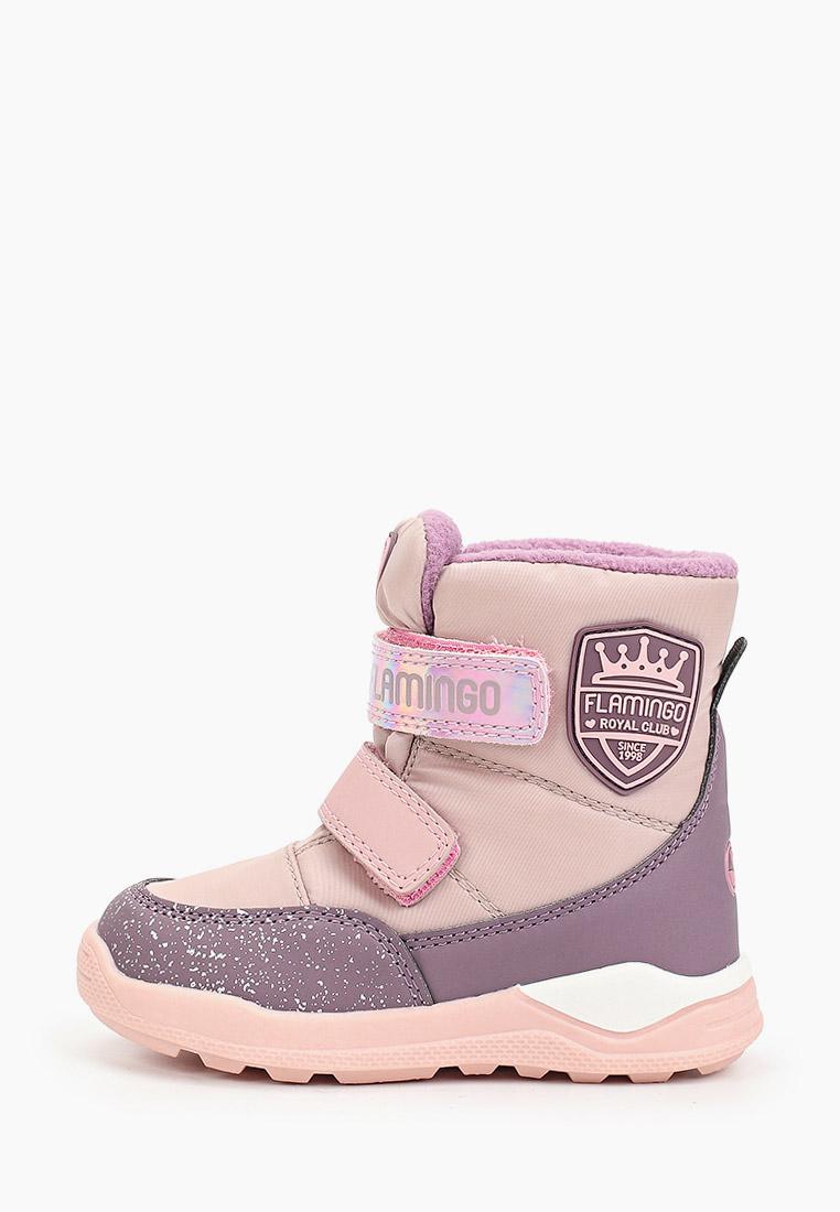 Ботинки для девочек Flamingo 92M-QK-1627