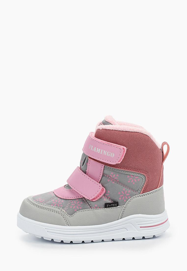 Ботинки для девочек Flamingo 92M-TG-1675