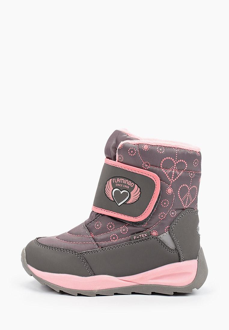 Ботинки для девочек Flamingo 92M-QK-1625