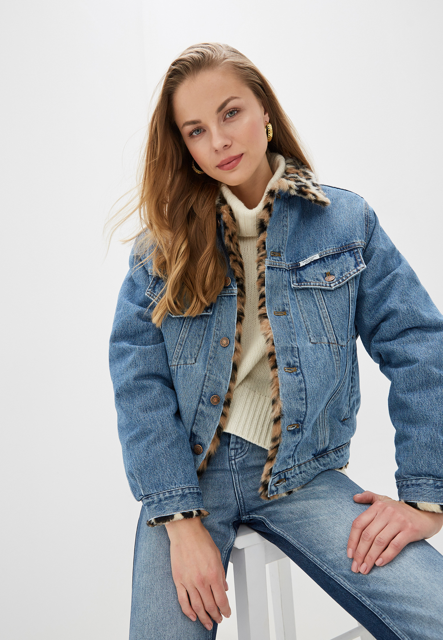 Джинсовая куртка Forte Dei Marmi Couture FFW19-1117