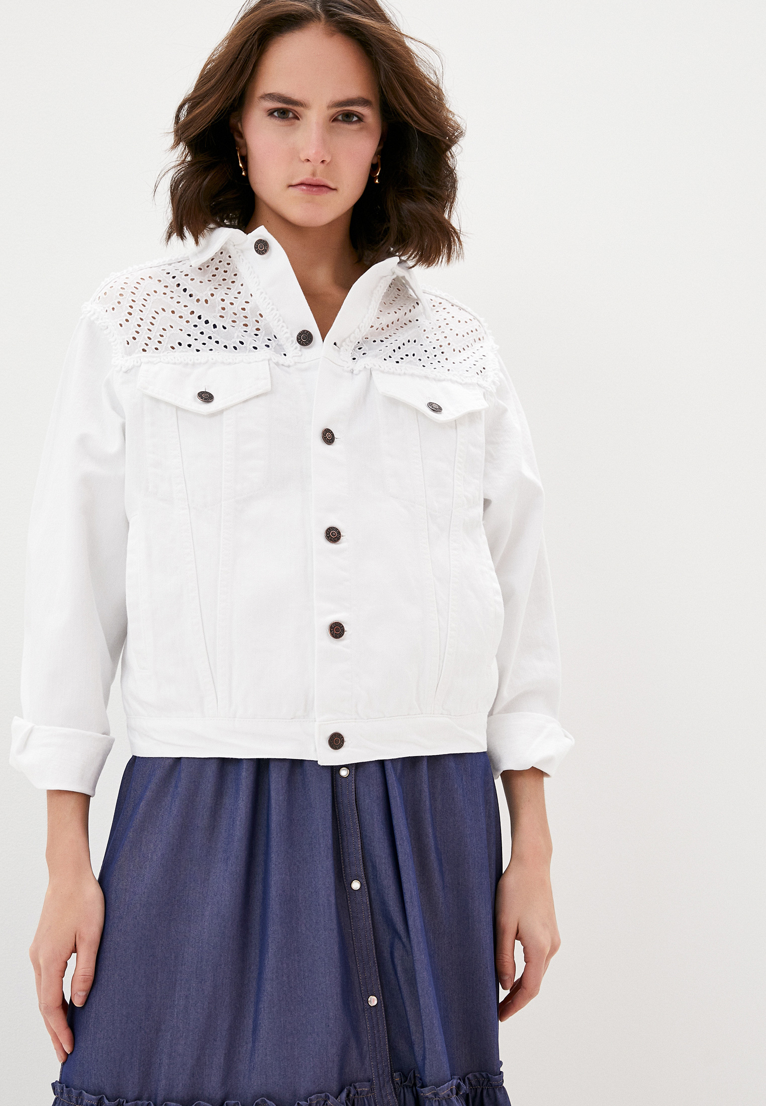 Джинсовая куртка Forte Dei Marmi Couture 20SF5377