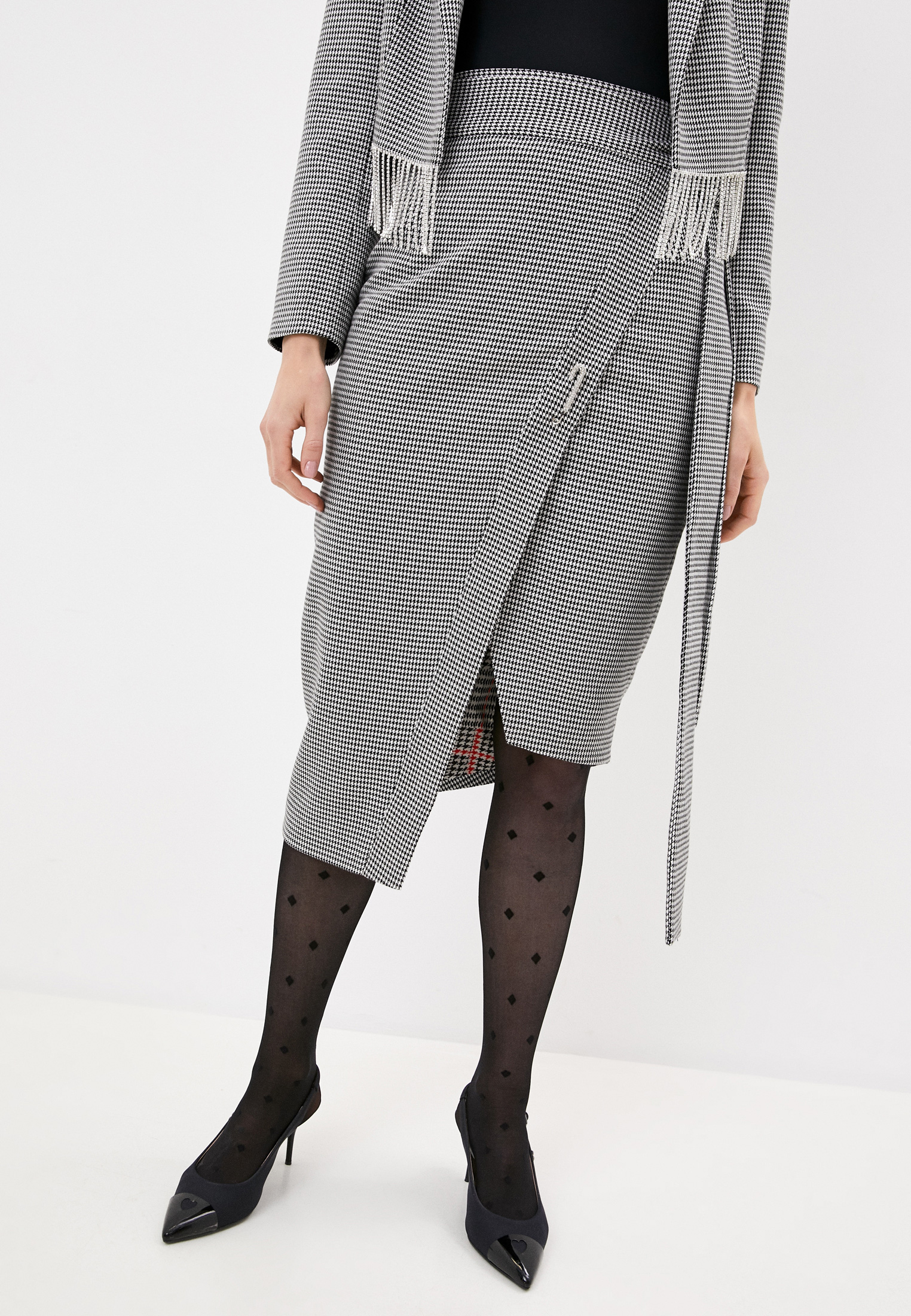 Широкая юбка Forte Dei Marmi Couture 20WF7700