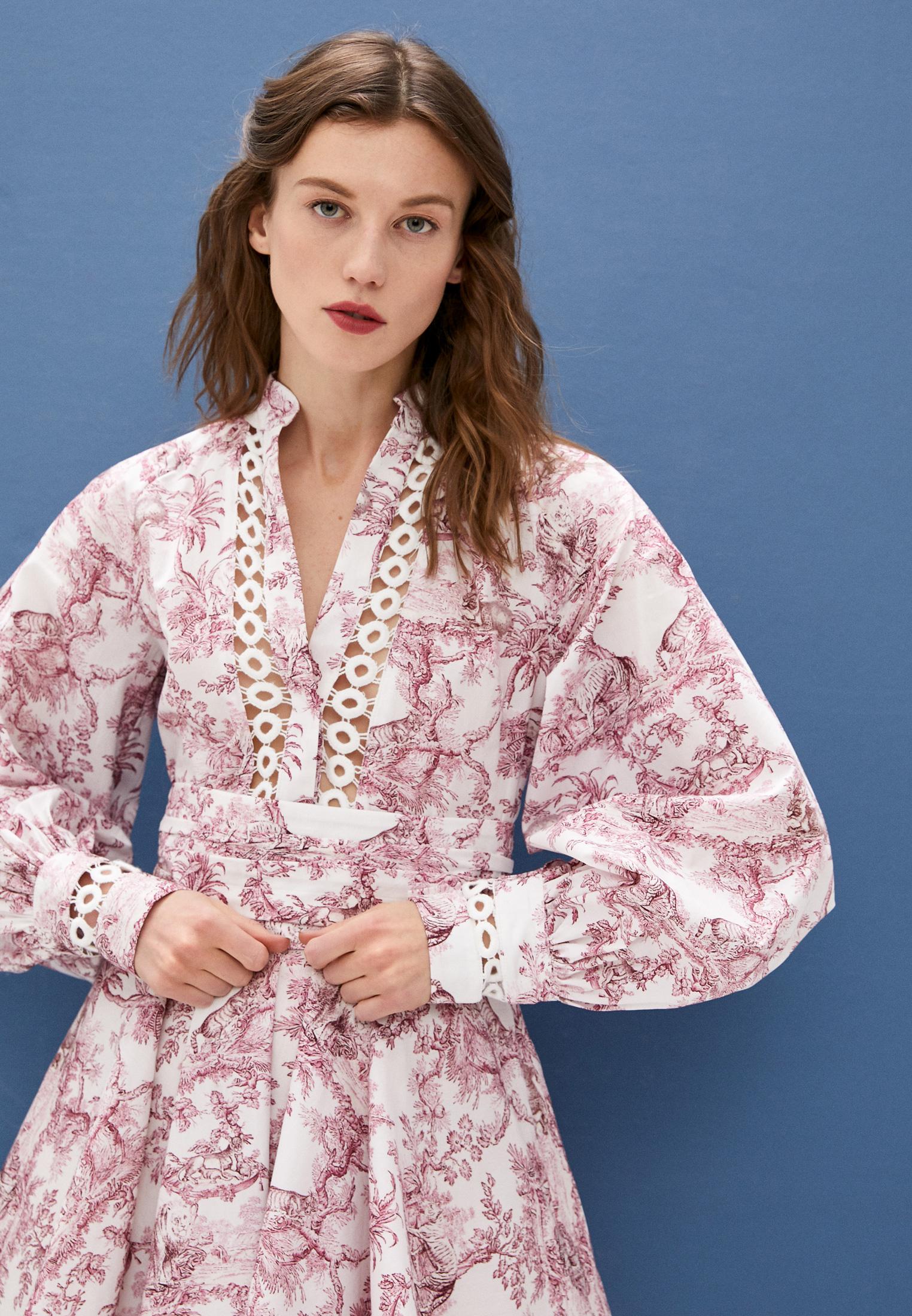 Повседневное платье Forte Dei Marmi Couture 21SF9601: изображение 2
