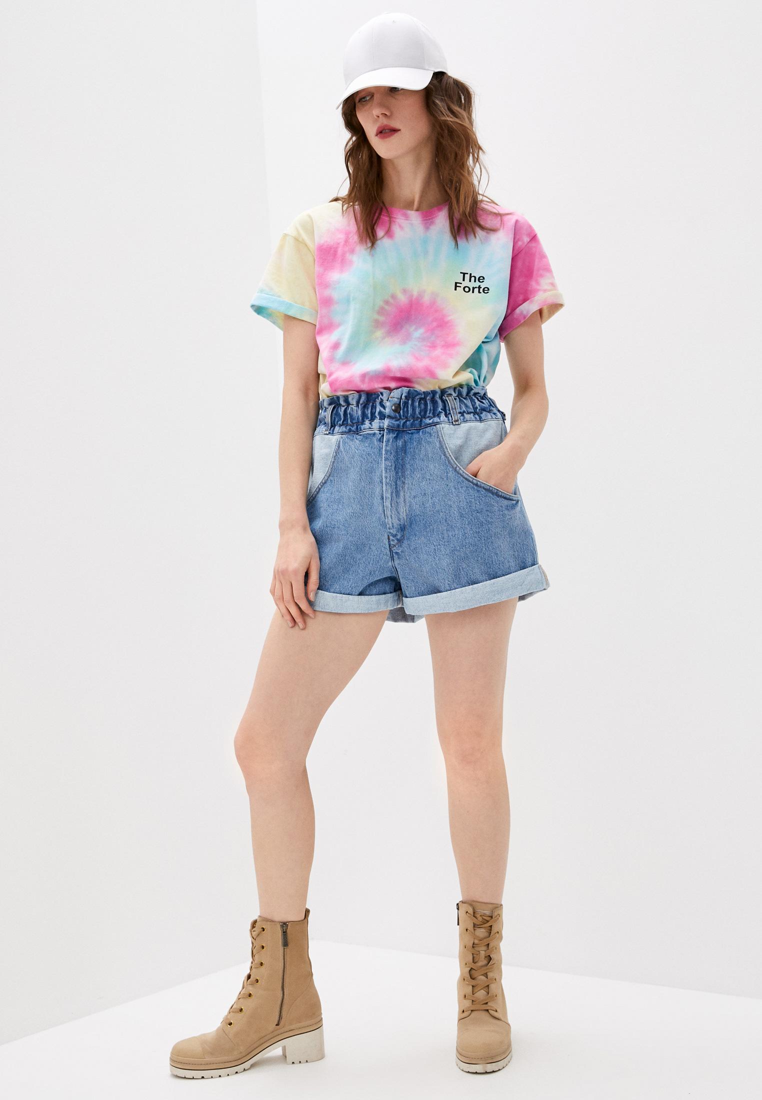 Женские джинсовые шорты Forte Dei Marmi Couture 21SF9850: изображение 3
