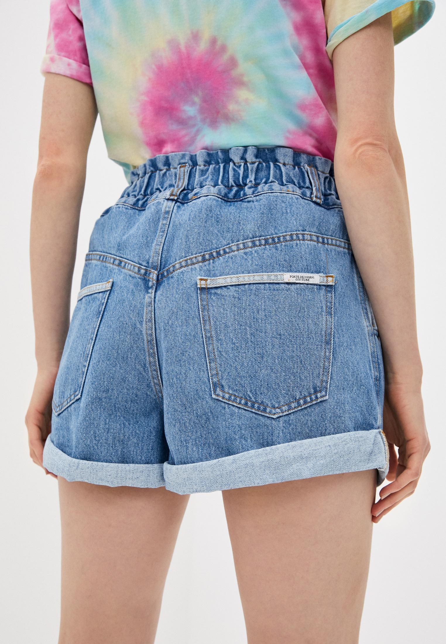 Женские джинсовые шорты Forte Dei Marmi Couture 21SF9850: изображение 4