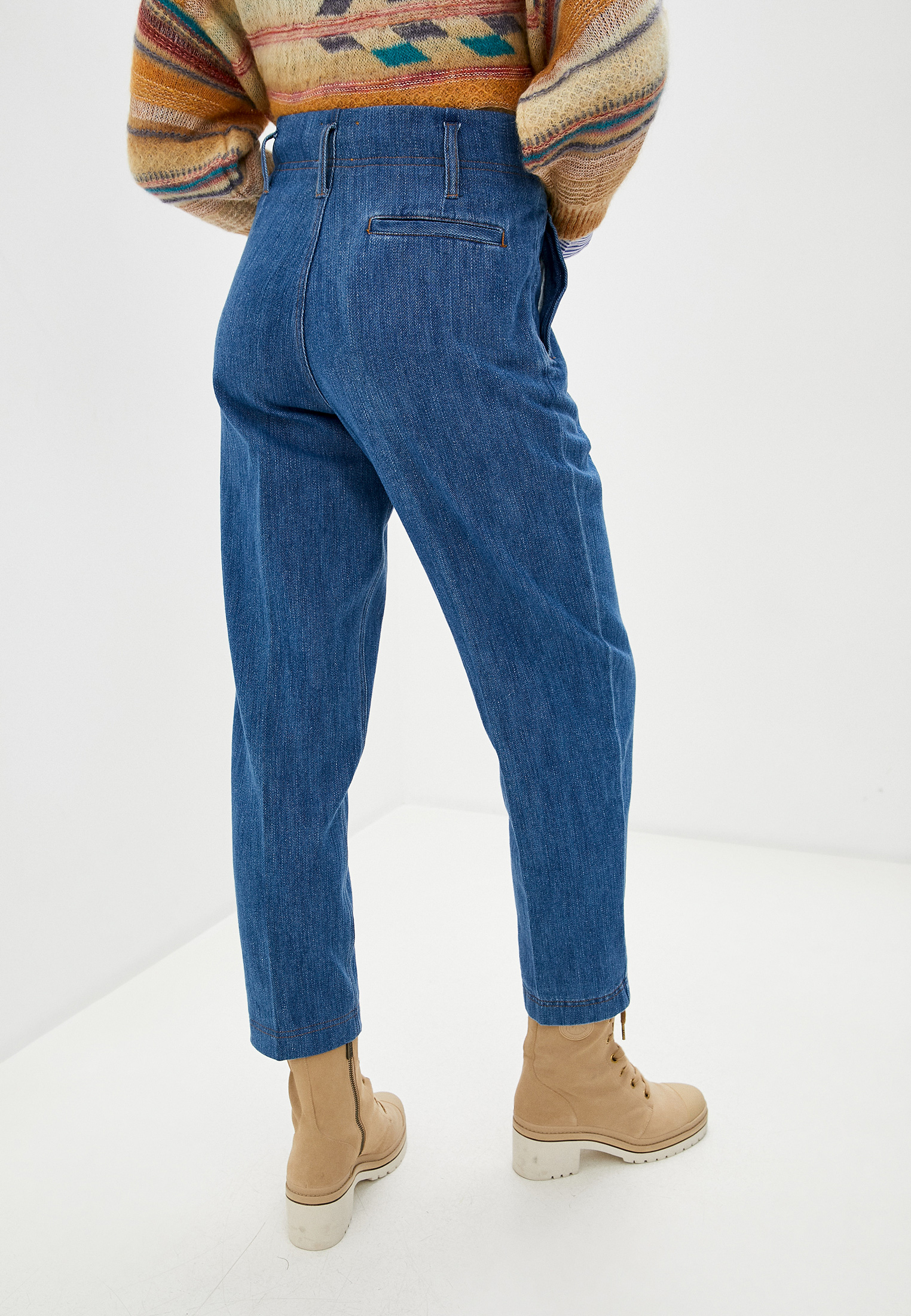 Широкие и расклешенные джинсы Forte Forte 7532_my pants: изображение 4