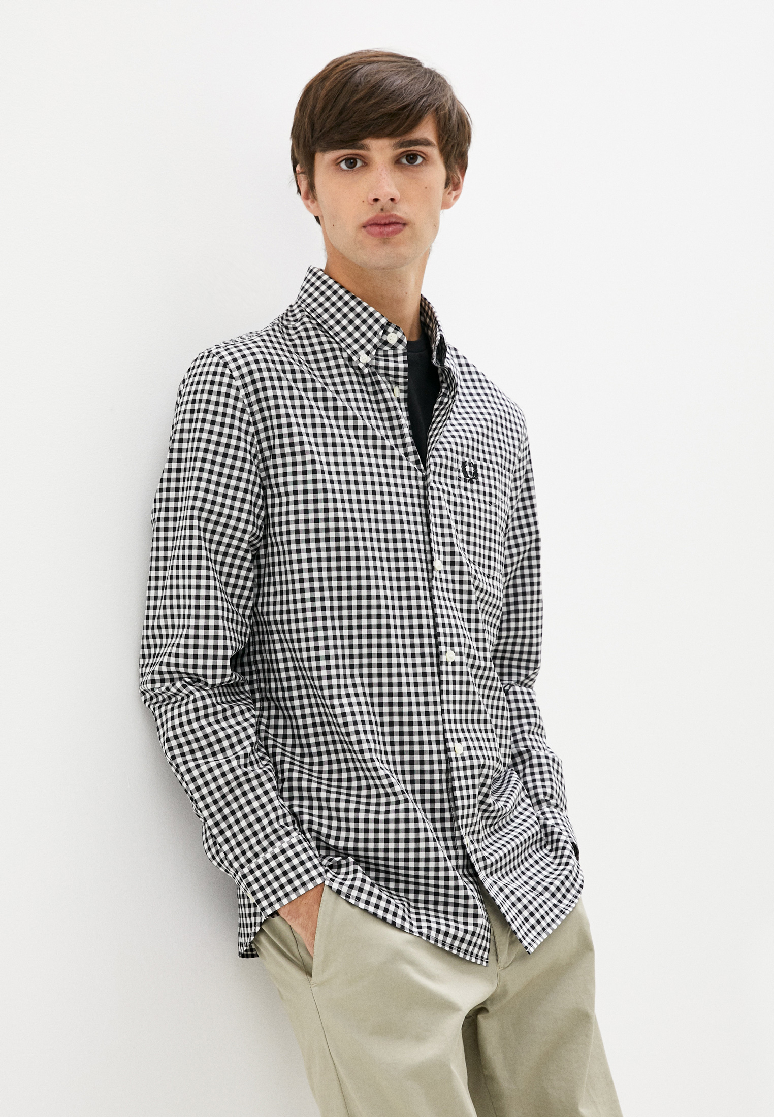 Рубашка с длинным рукавом Fred Perry M9500
