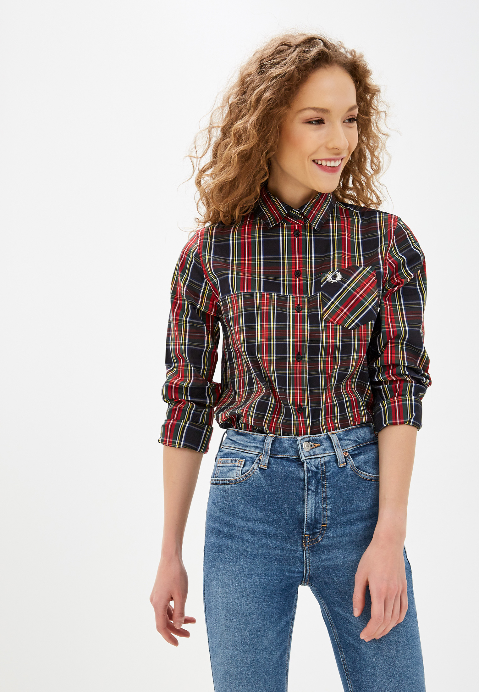 Женские рубашки с длинным рукавом Fred Perry G7114