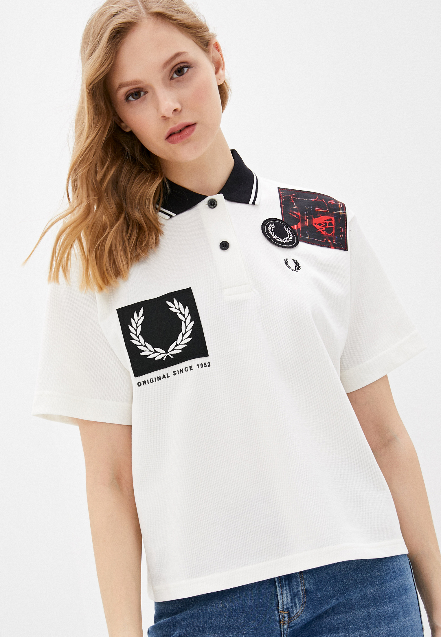 Женские поло Fred Perry Поло Fred Perry
