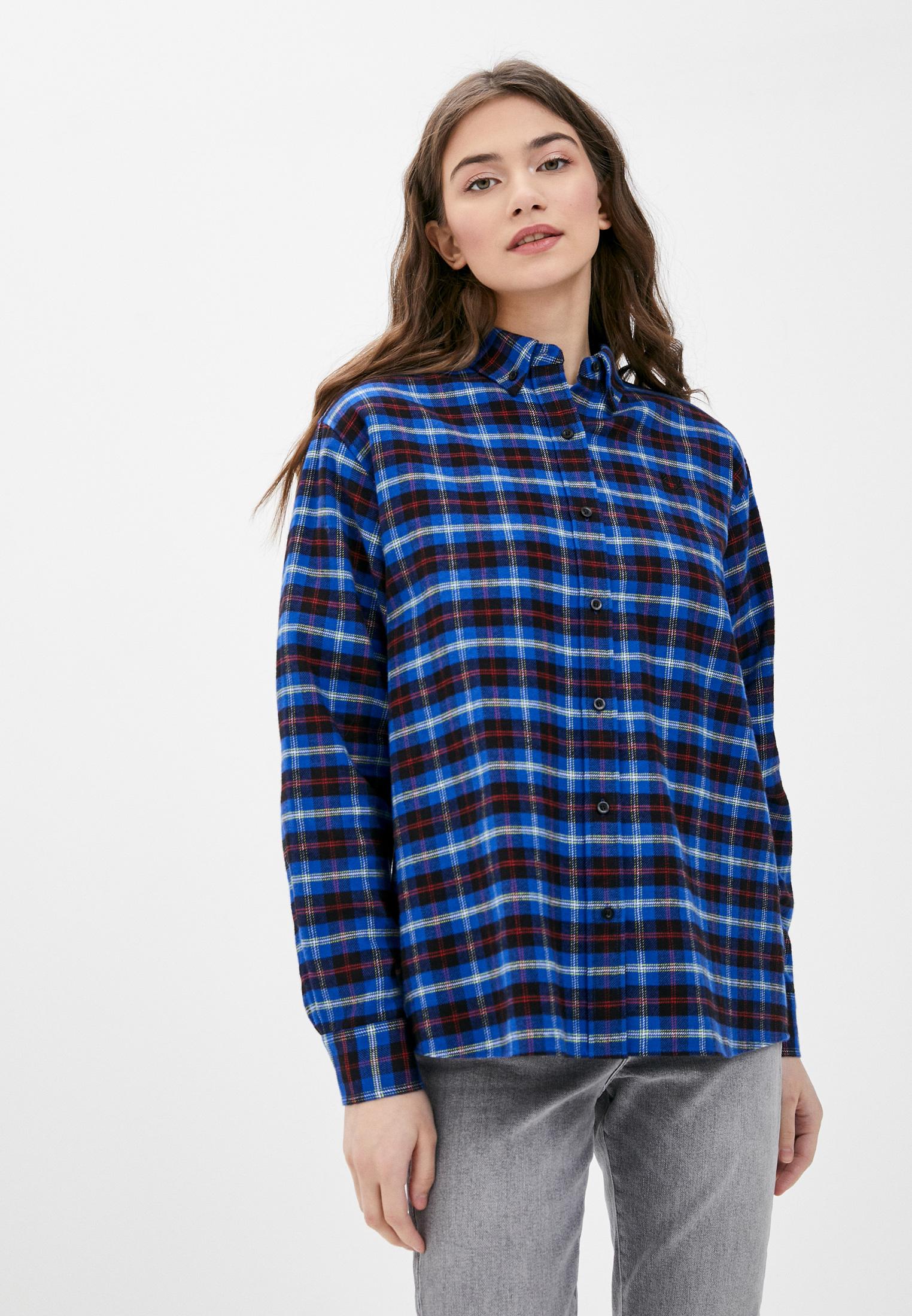Женские рубашки с длинным рукавом Fred Perry Рубашка Fred Perry