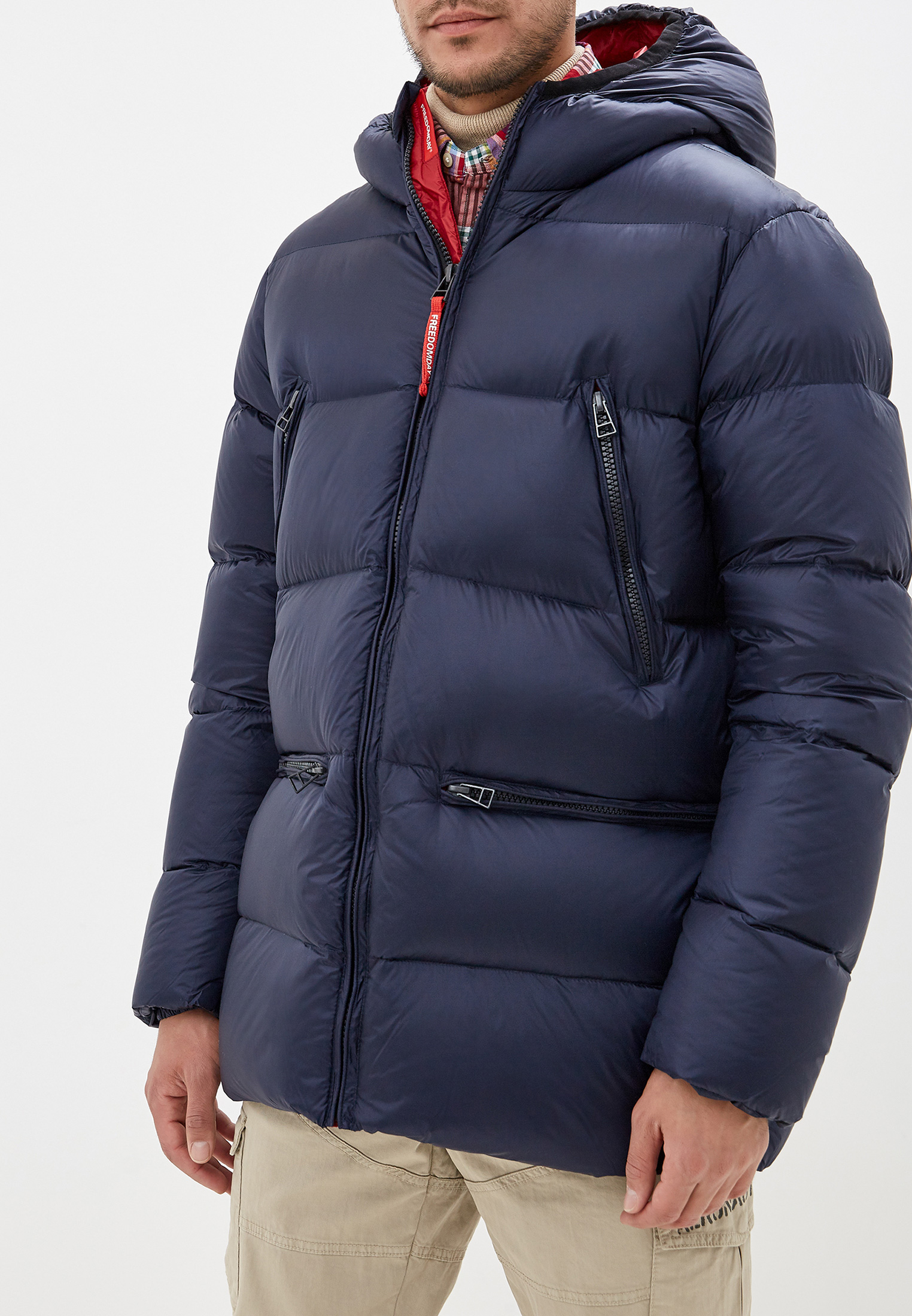 Утепленная куртка Freedomday IFRM1207U767-RD