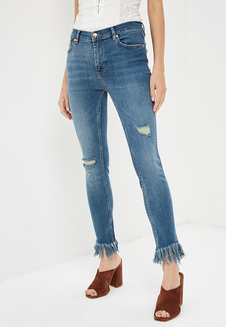 Зауженные джинсы Free People OB661483