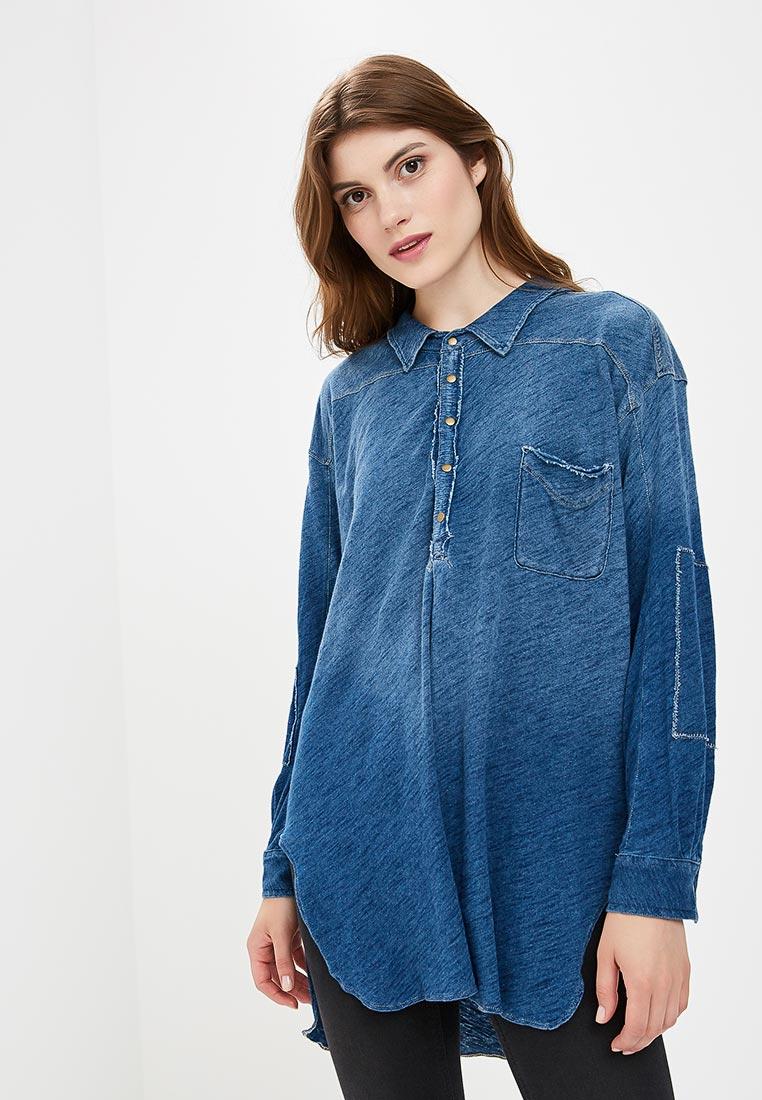 Женские джинсовые рубашки Free People OB807814
