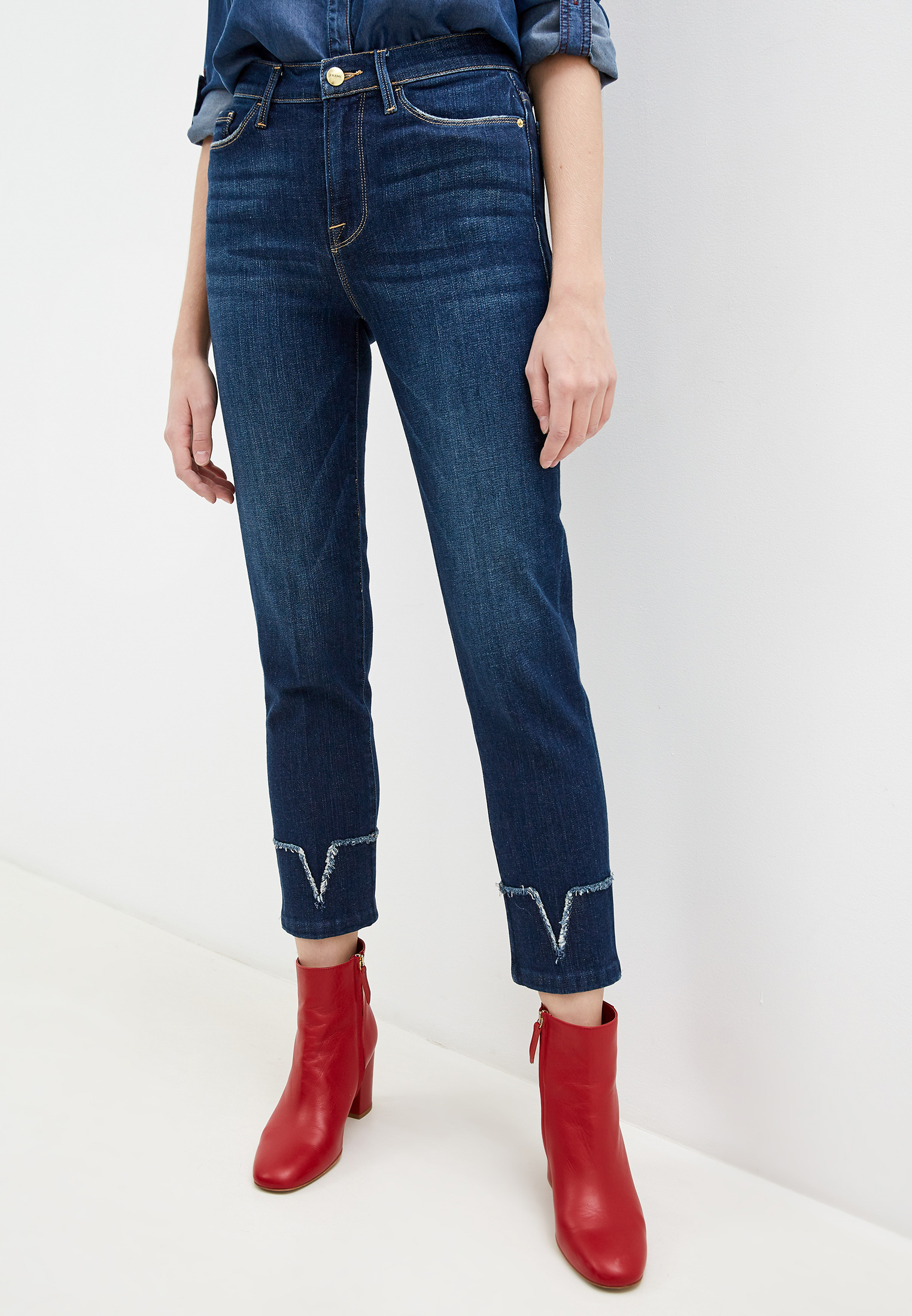 Зауженные джинсы Frame LNSVCF793